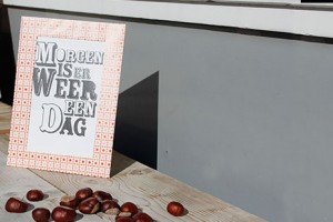 Diy: Morgen is er weer een dag