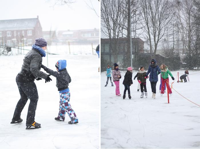 kou-schaatsen-sneeuw-en-foto's-maken