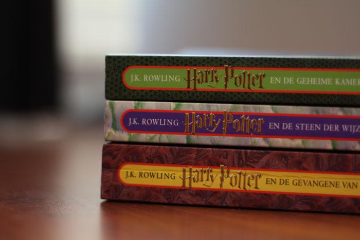 Op de valreep van 2012 waren er nog nieuwe boeken Harry potter