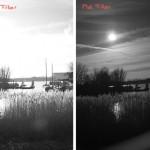 Fotograferen met een rood filter