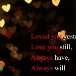 Photoquote 5 - Love you