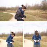 Zelfportert fotograferen met de Kodak six-20 Brownie D
