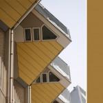 Rotterdam en vreemde huizen