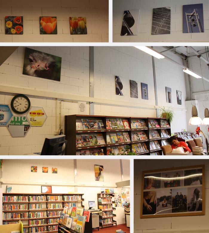 Expositie bibliotheek Krimpen aan de Lek