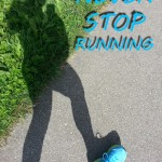 Photoquote 34 Never stop running