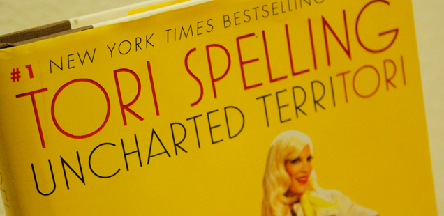 Read: Tori Spelling Uncharted Territori