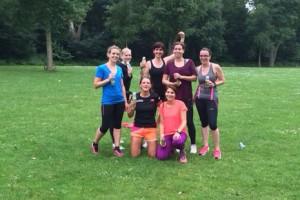 Run & juice club training