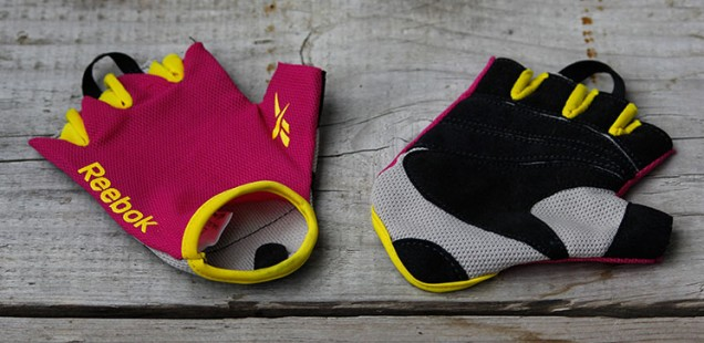 ♥ Reebok color line fitness glove