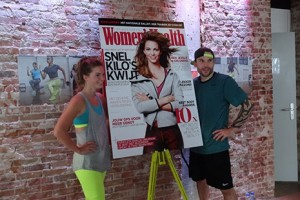 Lancering nieuwe women's health en NTC workout