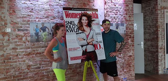 Lancering nieuwe women's health en NTC workout