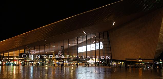 Rotterdam in de lichtjes