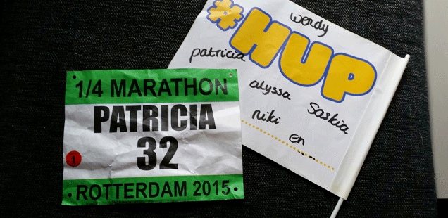1/4 marathon Rotterdam