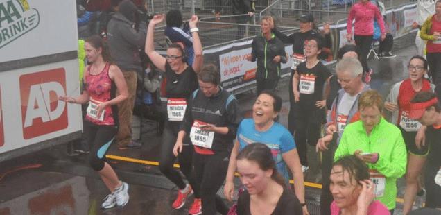 Ad mini marathon en VIP clinic van Evy Gruyaert