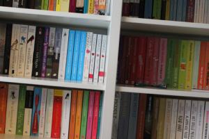 Eindelijk een trotse plek voor mijn boeken