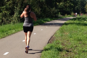 Run augustus 110,6 km km wezen hardlopen