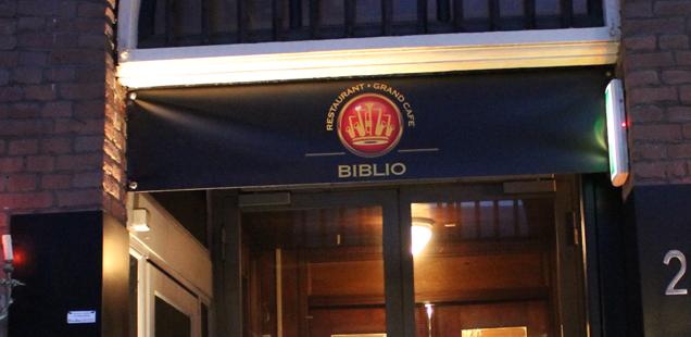 Drink & eat in Rotterdam: Biblio