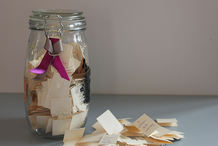 Just do it yourself Memory jar