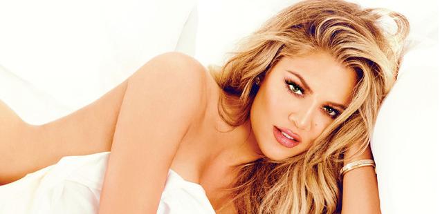 Khloé Kardashian Strong looks better naked
